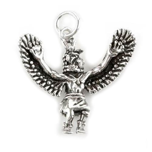 Eagle Dancer Pendant  (Sterling Silver)