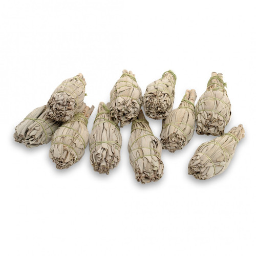 Mini Californian White Sage Smudge Sticks (Premium Quality)