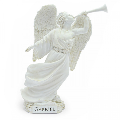 Angel Star Figurine - Archangel Gabriel (7 Inches) - Unboxed