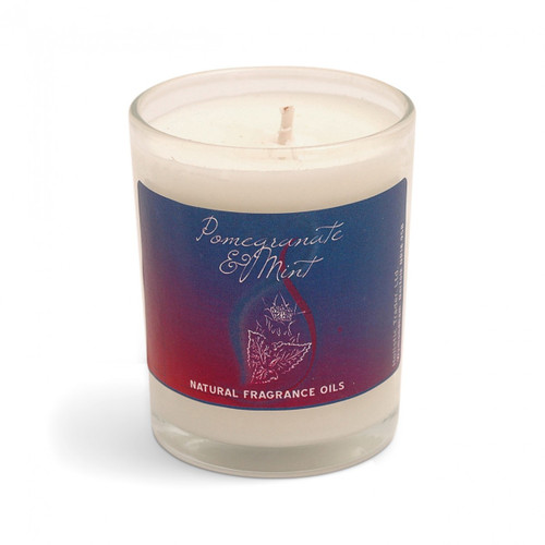 Votive Fragranced Candle - Pomegranate and Mint
