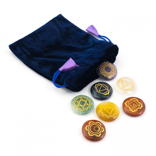 Chakra Disc Set (with Chakra Symbol)