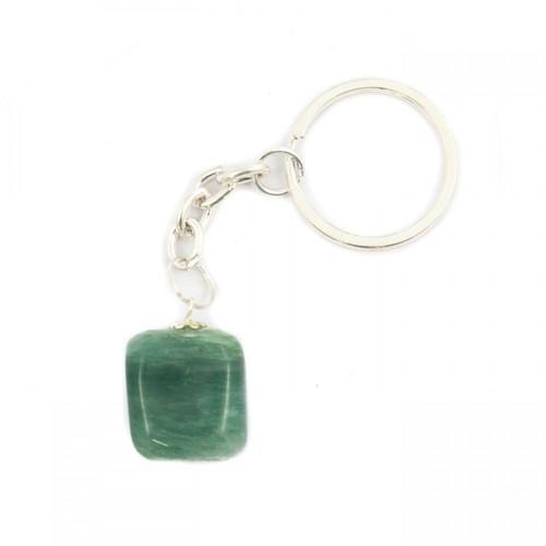 Tumblestone Keyring - Green Aventurine