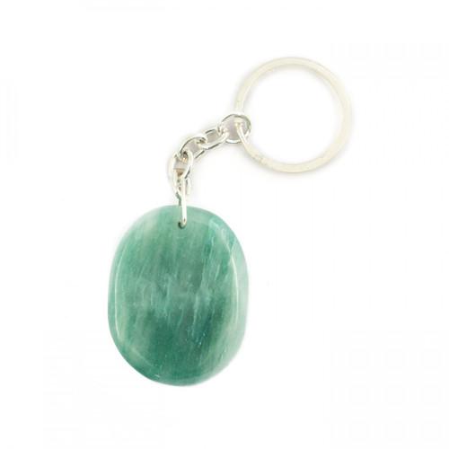 Crystal Keyring - Green Aventurine