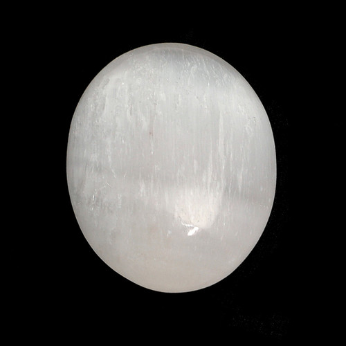 Palm Stone - Selenite