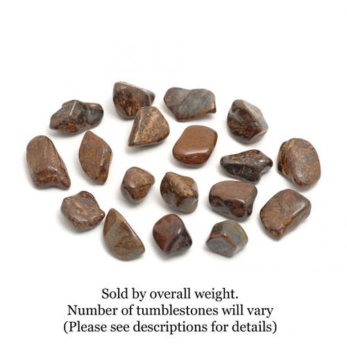 100g Bag of Bronzite Tumblestones (Brazil)