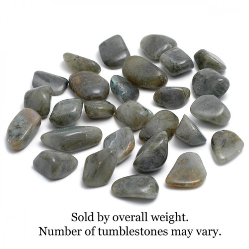 250g Bag of Labradorite Tumblestones (Madagascar)