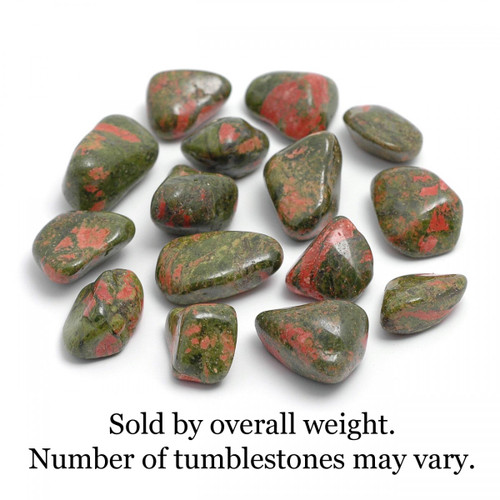 250g Bag of Unakite Tumblestones (South Africa)