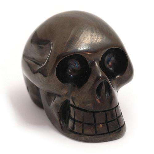 Black Obsidian - Skull