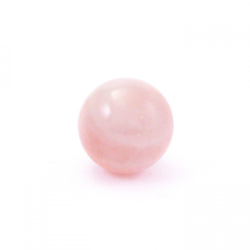 Rose Quartz Baby Sphere - (20mm Diameter)
