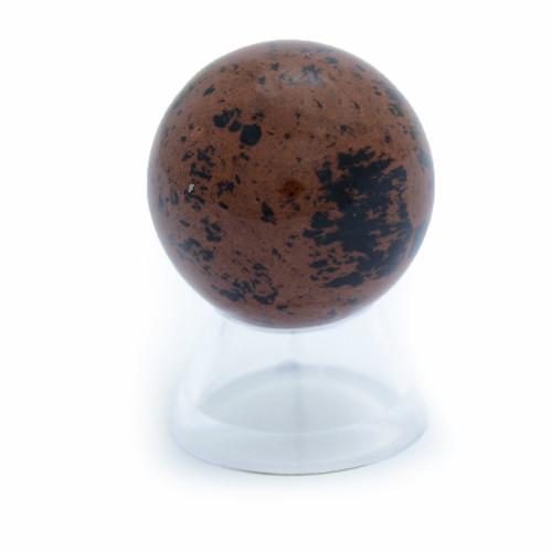 Sphere - Mahogany Obsidian (35mm diameter)