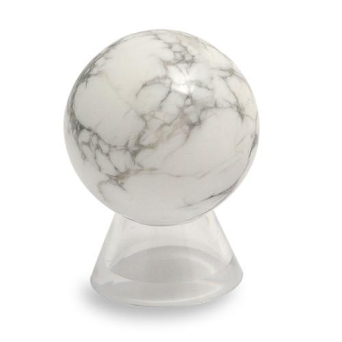 Sphere - Howlite (40mm diameter)