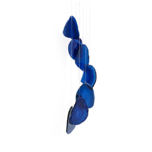 Agate Windchime - Blue