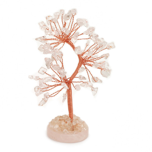 Gem Tree - Clear Quartz (Round Base)