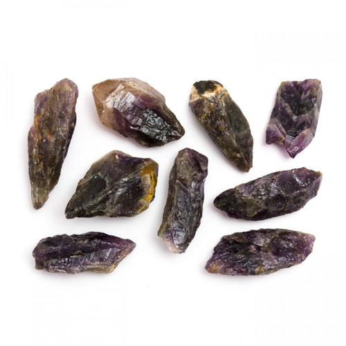 Rough Auralite 23 - Pack of 10 (from Canada)