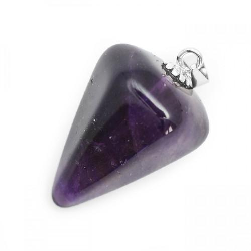 Amethyst - Crystal Pendulum Pendant