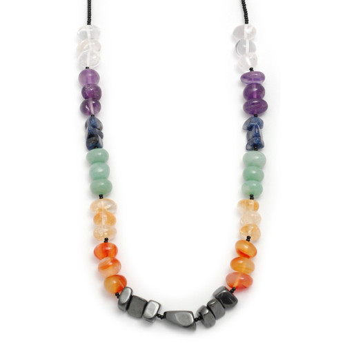 Chakra Chip Necklace - 16-18 inches (40-46cms)