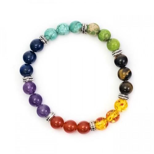 Chakra Bracelet - Mixed Beads