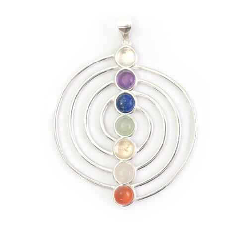 Chakra Pendant - Spiral Shape