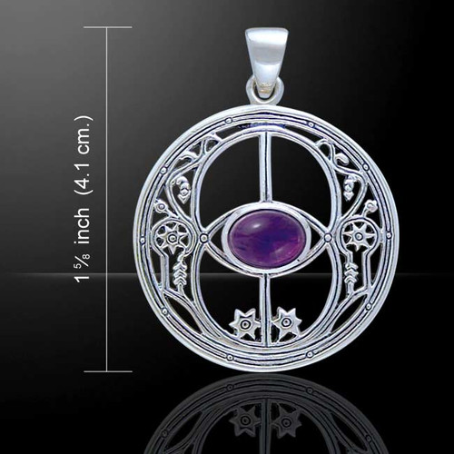 Chalice Well Pendant (Sterling Silver)