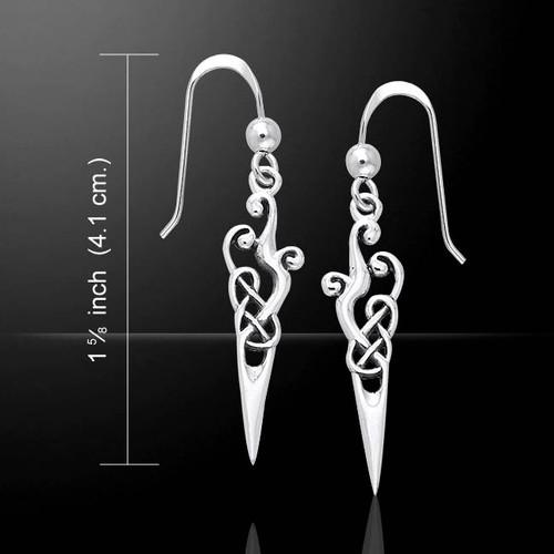 Urnes Earrings (Sterling Silver)