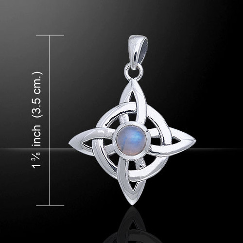 Celtic Wheel of Being (Sterling Silver)