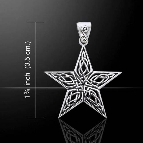 Celtic Knotwork Pendant (Sterling Silver)