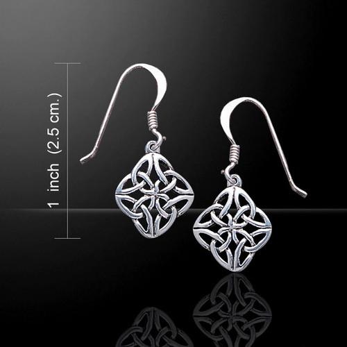 Celtic Knotwork Earings (Sterling Silver)