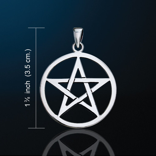 Pentacle Pendant (Silver Plated)