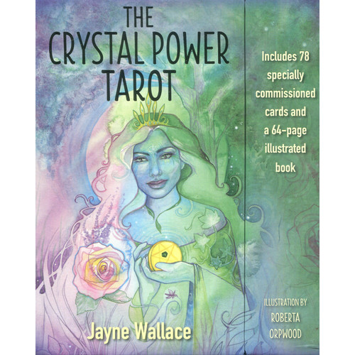 The Crystal Power Tarot - Jayne Wallace