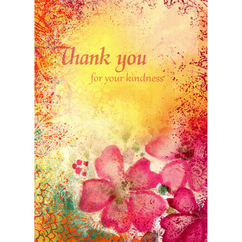 Kindness Thanks Card (Thank You Message)