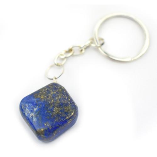 Tumblestone Keyring - Lapis Lazuli