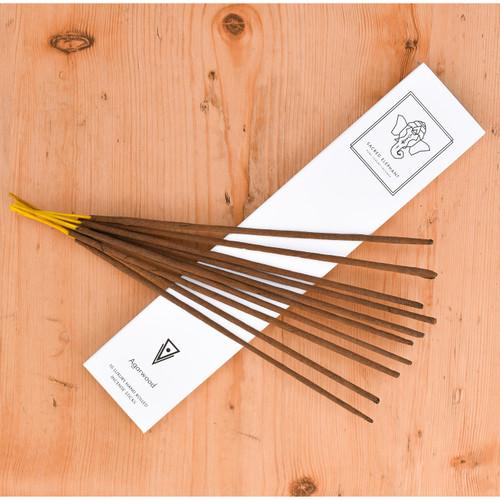 Sacred Elephant Luxury Incense - Agarwood (10 sticks)