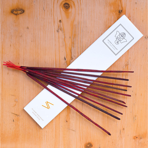 Sacred Elephant Luxury Incense - Omani Frankincense 'Frankie' (10 Sticks)