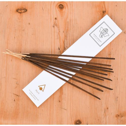 Sacred Elephant Luxury Incense - Myrrh (10 Sticks)