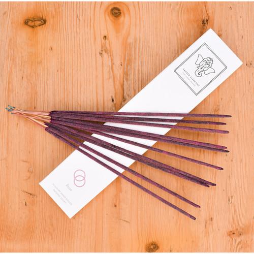 Sacred Elephant Luxury Incense - Rose (10 Sticks)