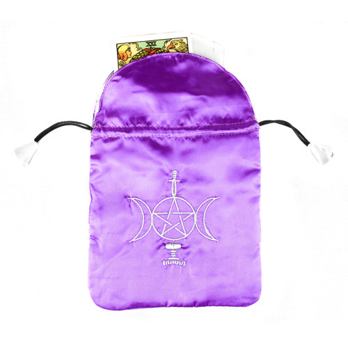 Sensual Wicca Satin Tarot / Oracle Card Bag