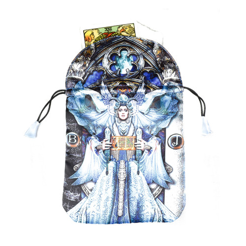 Illuminati Satin Tarot / Oracle Card Bag