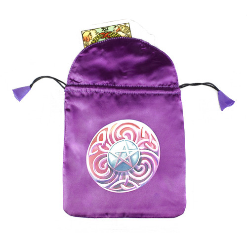 Magic Star Satin Tarot / Oracle Card Bag