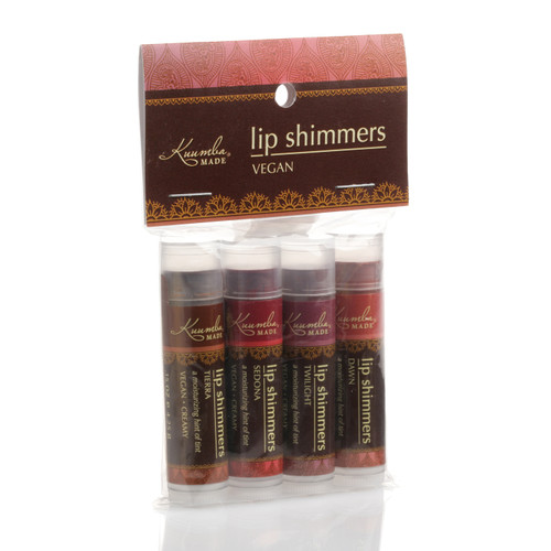 Kuumba Made Lip Shimmer Set (4 Pack)