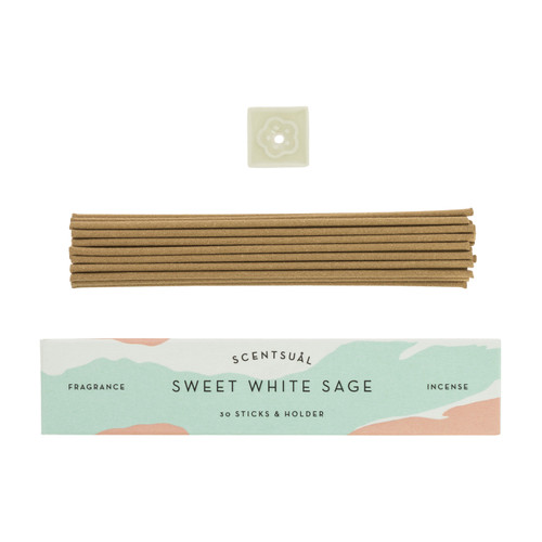 Sweet White Sage Scentsual Incense