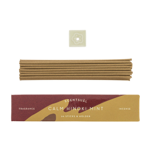 Calm Hinoki Mint Scentsual Incense