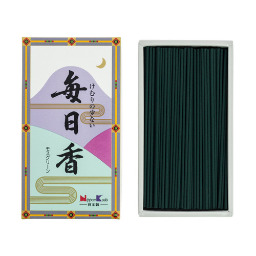 Mainichi-Koh Moss Incense (300 Sticks)