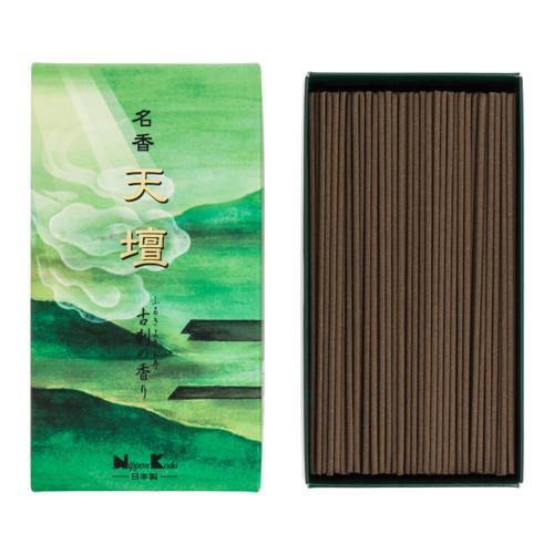 Tendan Old Temple Meiko Spicy Sandalwood Incense (300 Sticks)