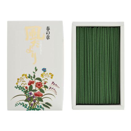 Kazedayori Spring Incense (360 Sticks)