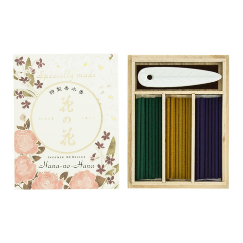 Premium Hana no Hana Assorted Floral Incense (30 Sticks)