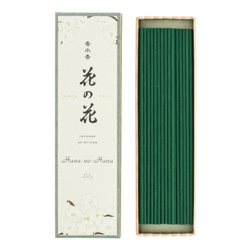 Hana no Hana Lily Incense (40 Sticks)