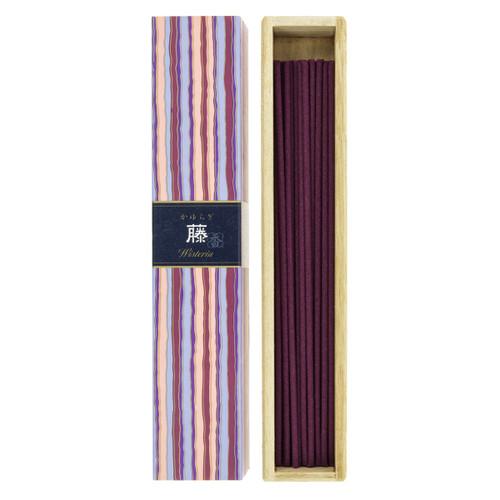 Kayuragi Wisteria Incense (40 Sticks)