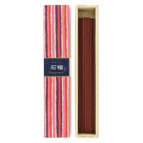 Kayuragi Pomegranate Incense (40 Sticks)