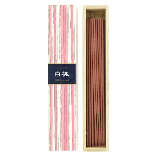 Kayuragi White Peach Incense (40 Sticks)