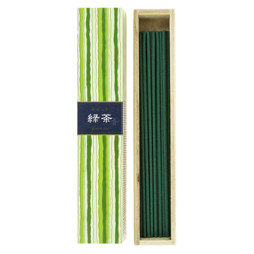 Kayuragi Green Tea Incense (40 Sticks)